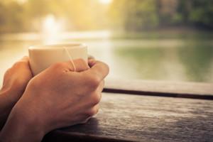 Tea by the lake