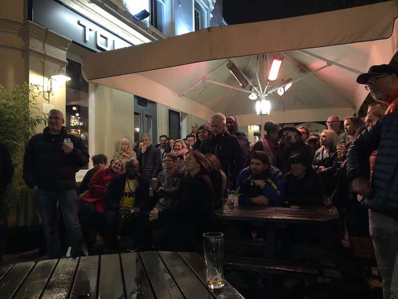 Well over £2000 raised for the LIAM SEAGER MEMORIAL FUND – A NIGHT OF COMEDY