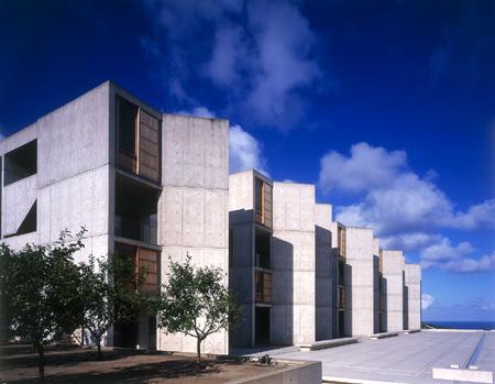 architect louis kahn, salk institute