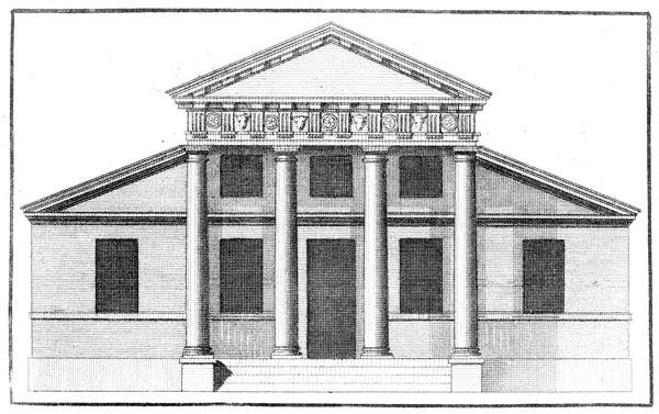 Redwood Library, Civic Palladian architecture, Newport, RI, Peter Harrison, 1742