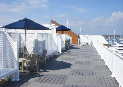 harborview rooftop day seating newport ri