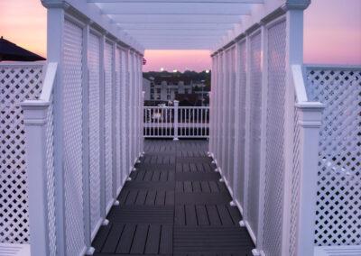 pergola harborview rooftop newport ri