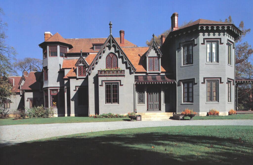 kingscote, newport, ri, federalist and early victorian era architecture