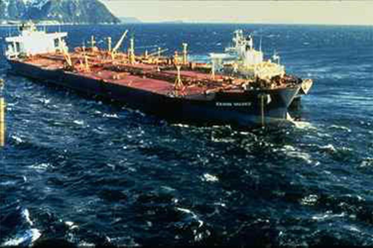 exxon valdez oil spill, energy distribution