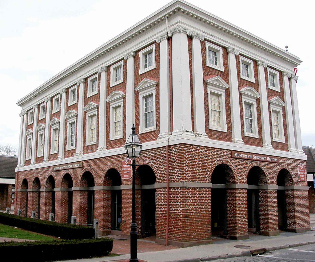 peter harrison, brick market, newport, ri