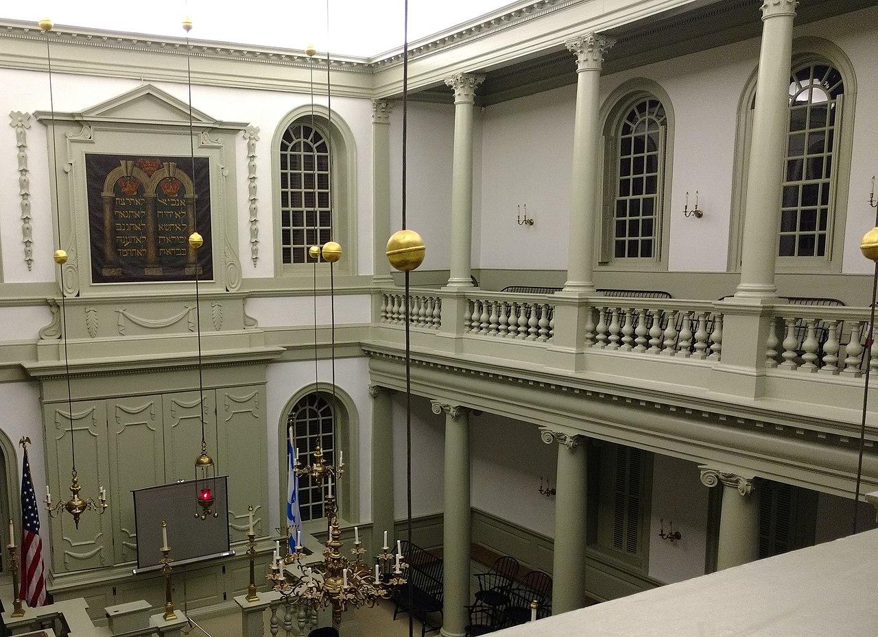 peter harrison, touro synagogue, newport, ri