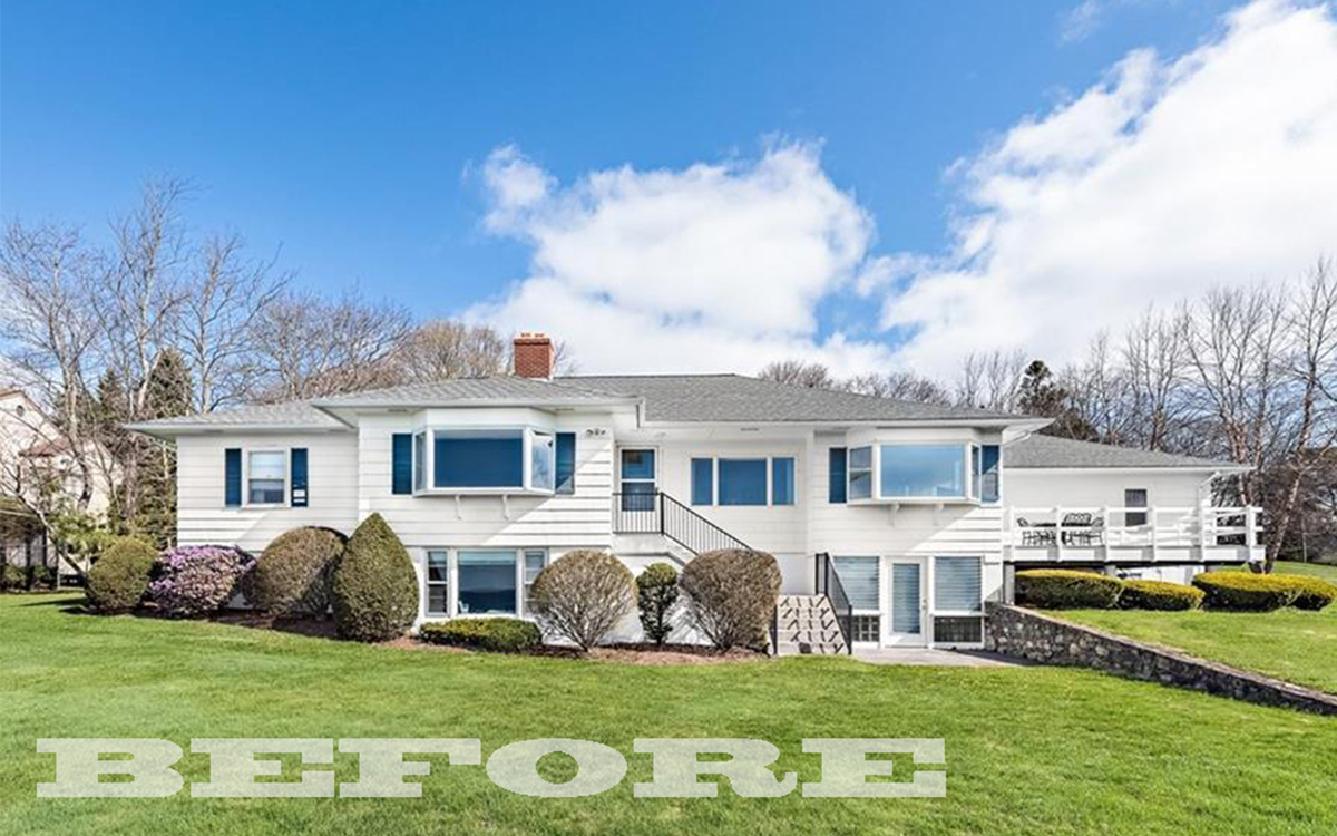 project spotlight, before picture of barrington, ri ranch house