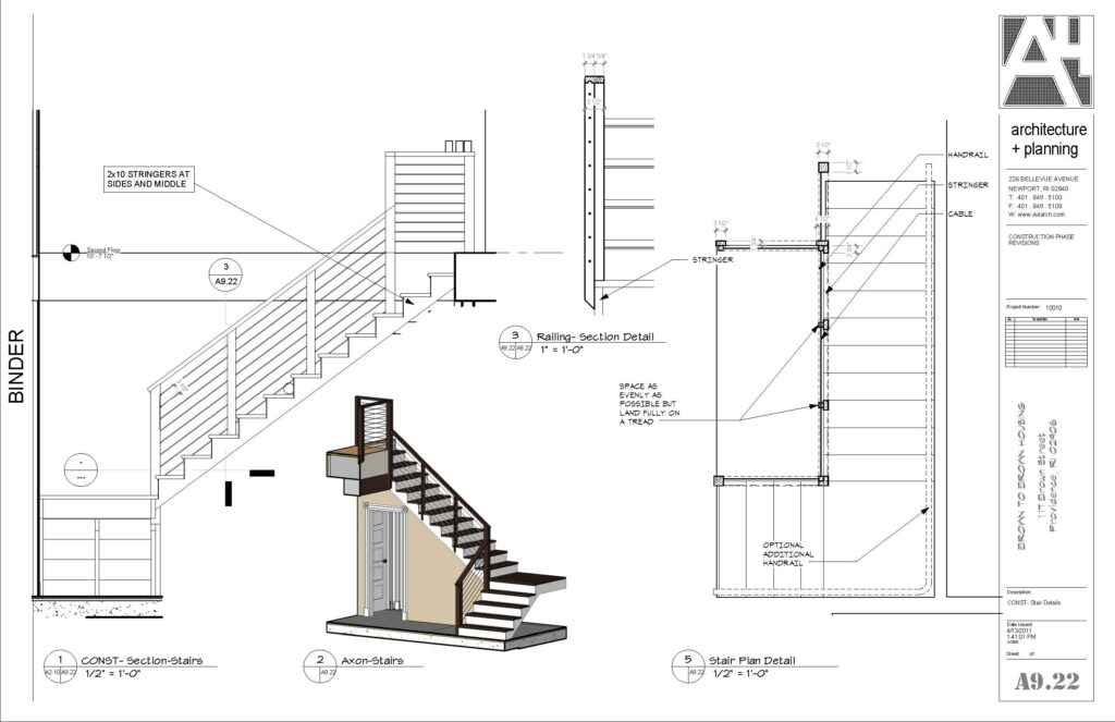 construction documents, a4 architecture