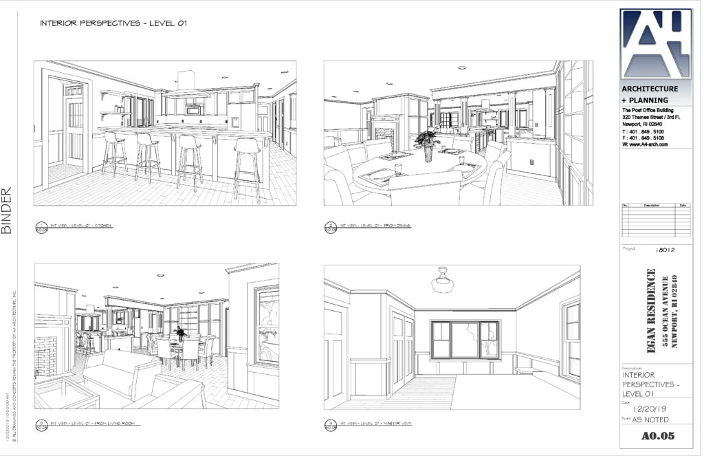 architectural animation and design plans