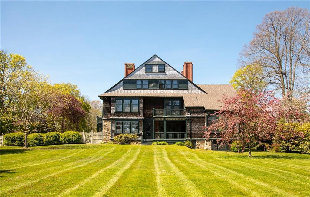 tilton house, newport, ri, shingle style