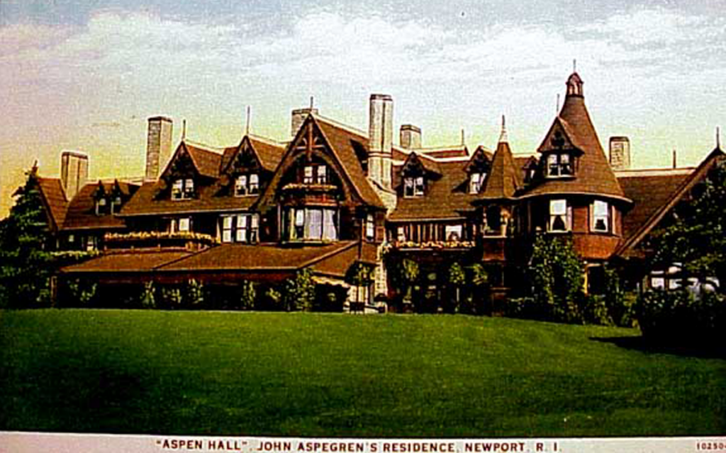 aspen hall newport ri peabody and stearns
