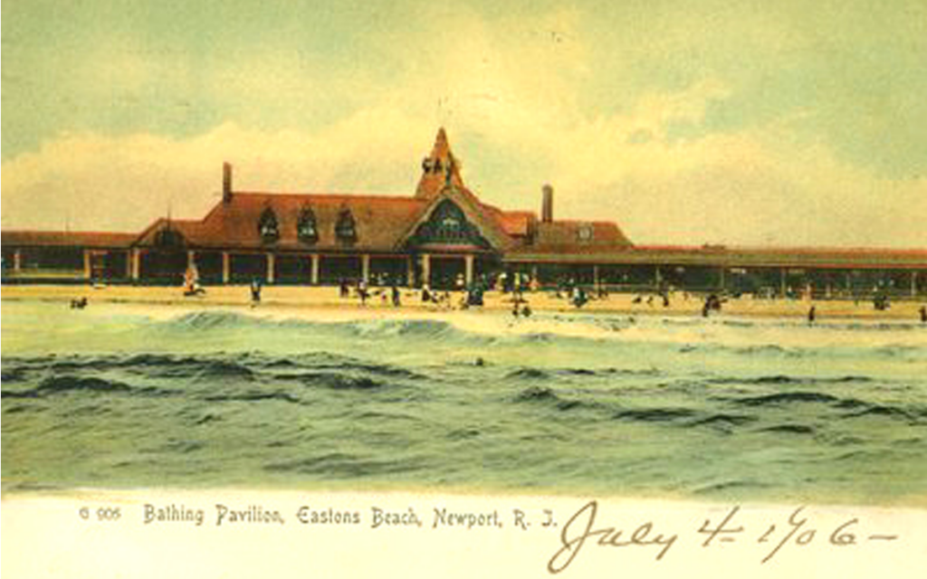 easton's beach pavilion newport ri peabody and stearns