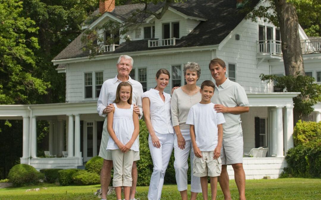 family portrait, architectural clients