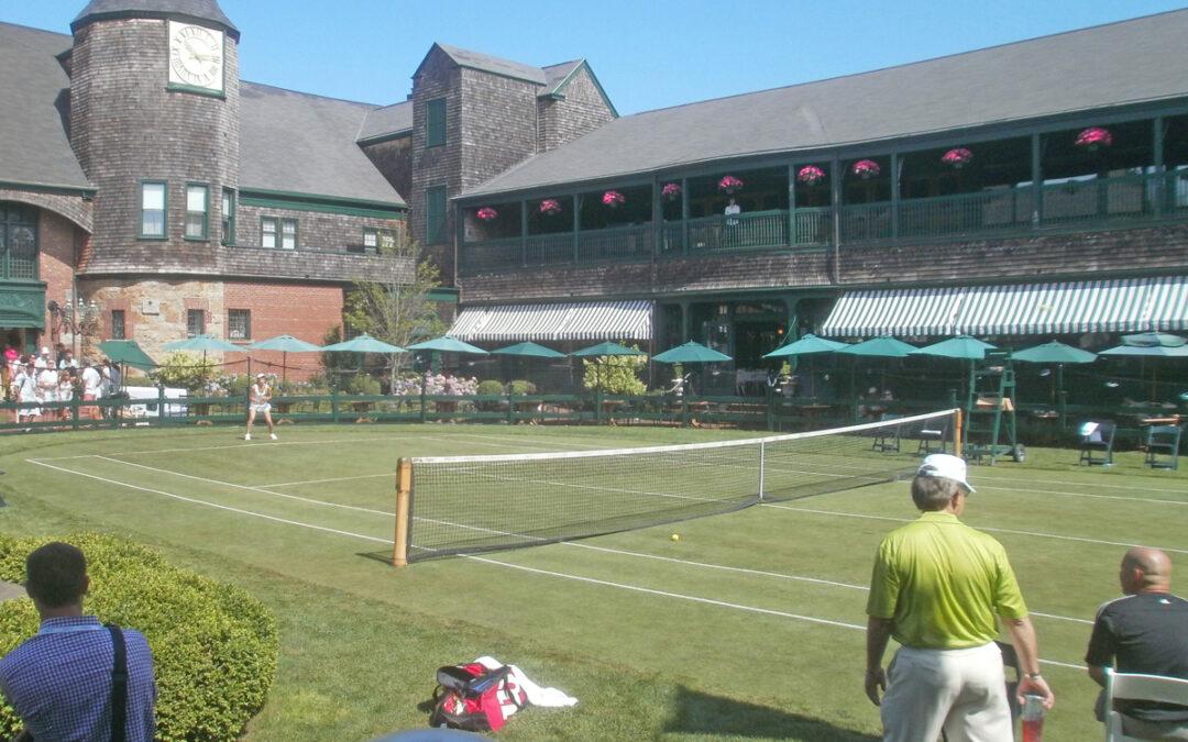 Tennis at the Newport Casino