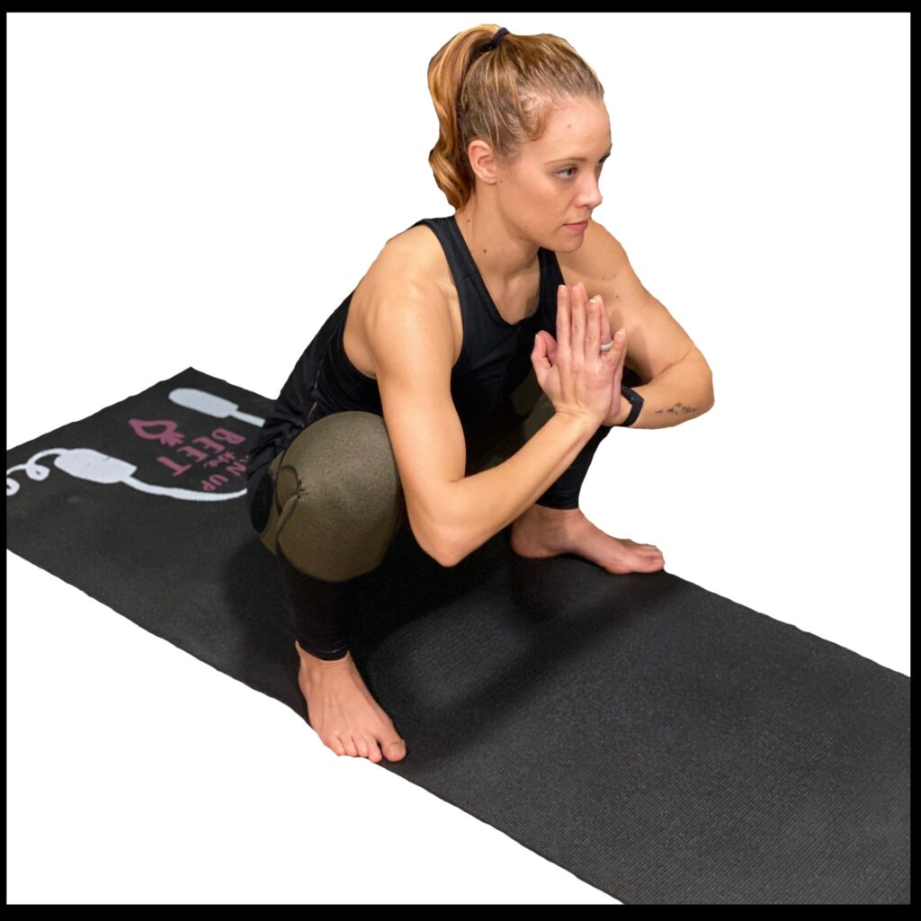 Frog Stretch, stretches to do from home