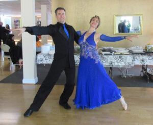 Martina Meyer Dancing Viennese Waltz