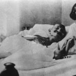 Fasting, with Indira, future Prime Minister of India (1920s)