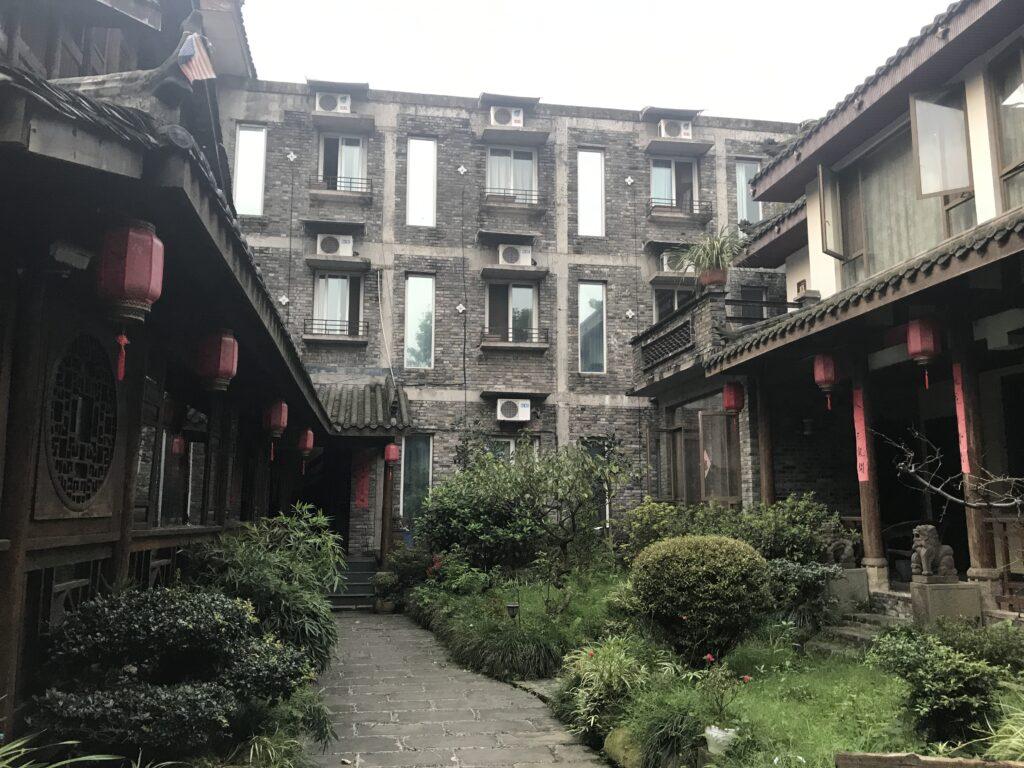 Our hotel in Emei