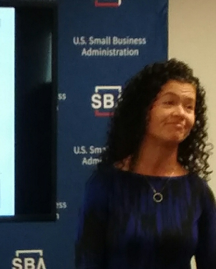 "Marcy Smorey-Giger presented ""Business Risks"" with SCORE's Small Business Basics Workshop"