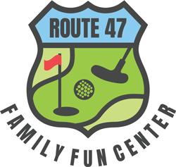 Rt. 47 Family Fun Center Ice Cream and Golf Logo
