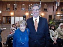 Bryna with the Honorable Ottawa Mayor
