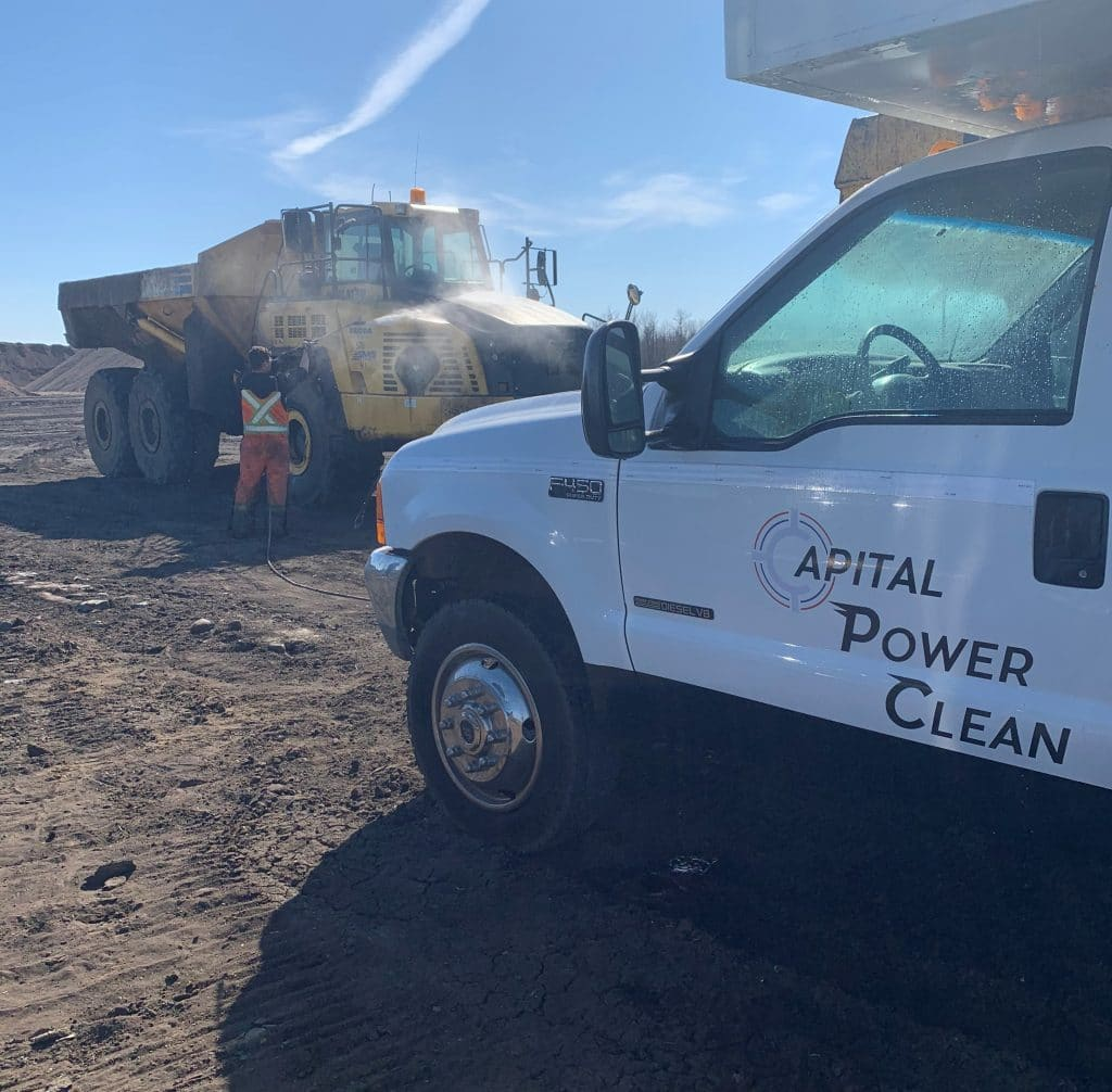 heavy duty equipment cleaning