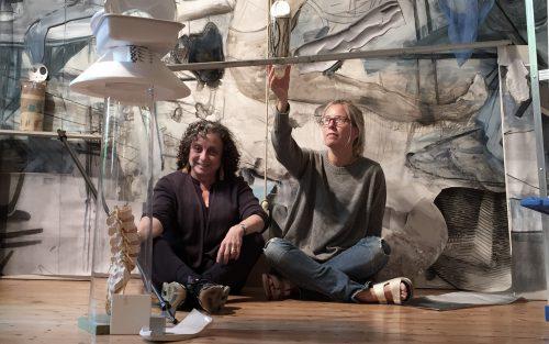 Sara Stites + Jenny Brillhart, studio view
