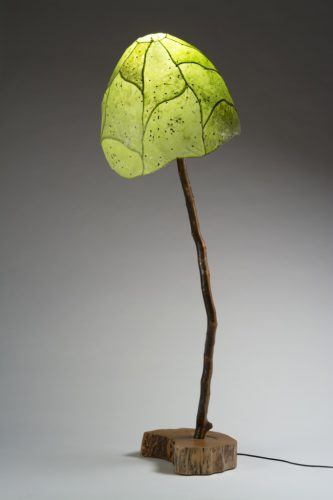 Ember Grove, Green Floor Lamp