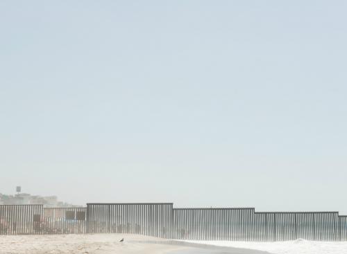Jacob Hessler, Dreaming a Wall, 2017, photograph on aluminum