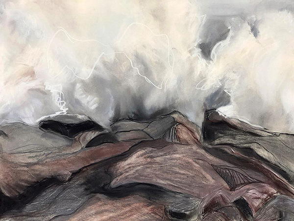 """SEA ME """"Granite Surf,"""" by Lisa Dombek"""