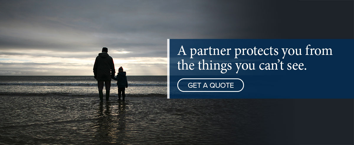 A partner protects you from the things you can't see - Webb Insurance Group