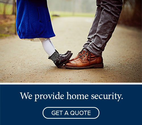 We provide home security - Get a quote