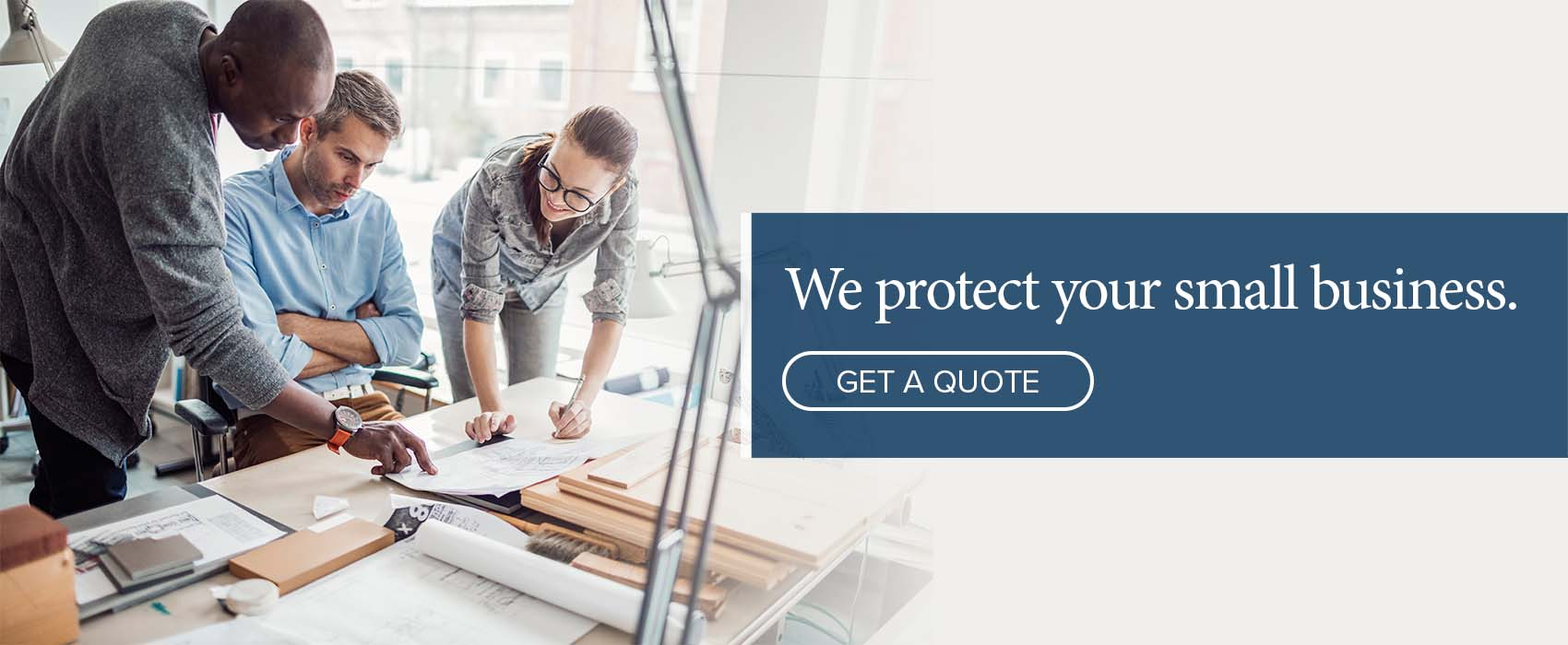 We protect small business