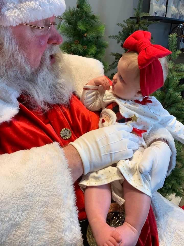 Santa Claus visiting Adelaide's League City