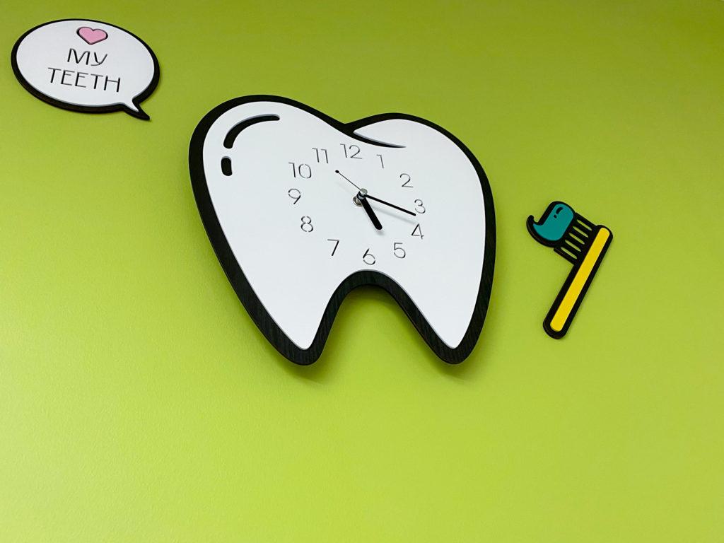 Ann Arbor Orthodontics Brushing clock