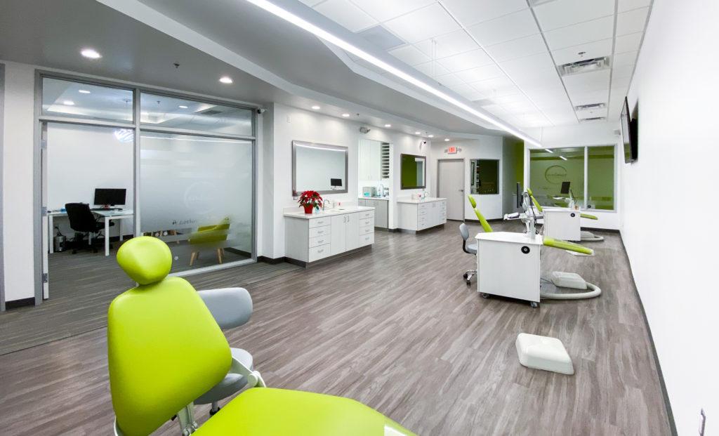 Ann Arbor Orthodontics clinic bay