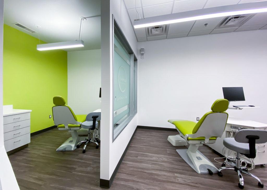 Ann Arbor Orthodontics examination room