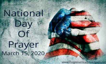 Donald Trump Declares National Day Of Prayer For Americans Affected By Coronavirus And For Our National Response Efforts March 15, 2020