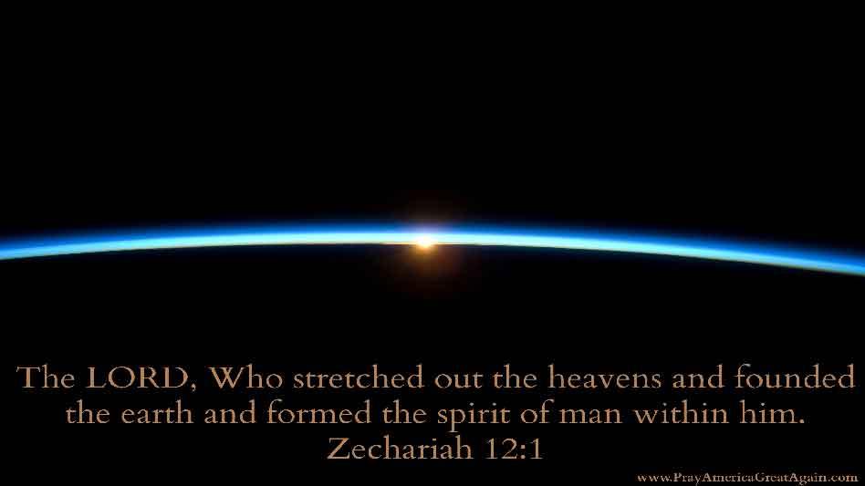Pray America Great Again Zechariah 12_1