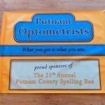 Spelling Bee Putnam Optometrists Sign 29.5 x 40