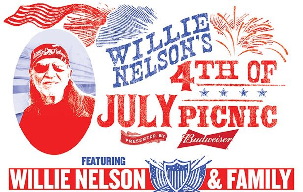 Willie Nelson's 4th of July Picnic   Lineup 2017