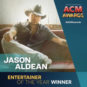 Jason Aldean Wins Entertainer of the Year at 2018 ACMs