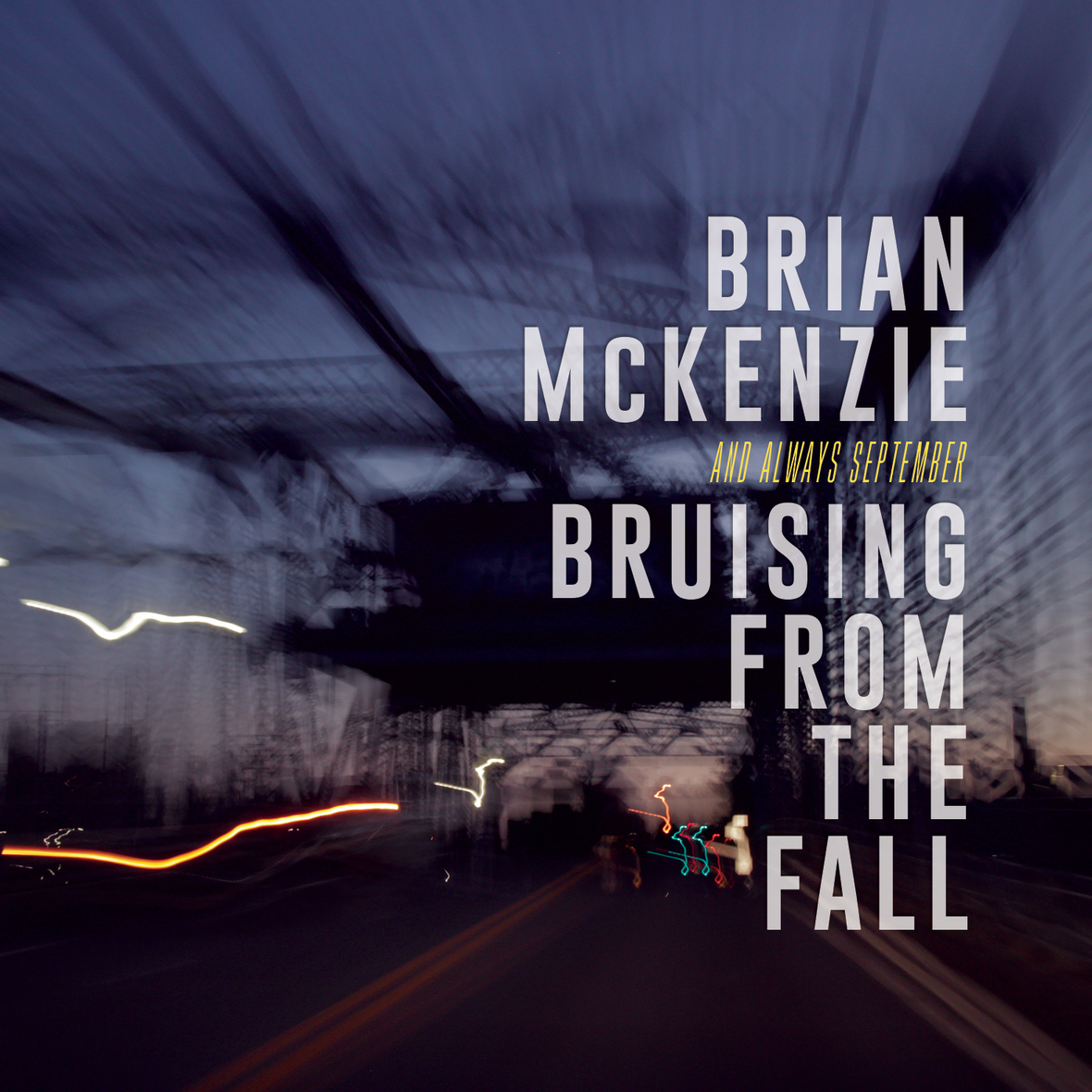 "Brian McKenzie Releases New EP – ""Bruising From The Fall"""