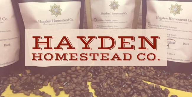Hayden Homestead Co.   A Family Coffee Co.
