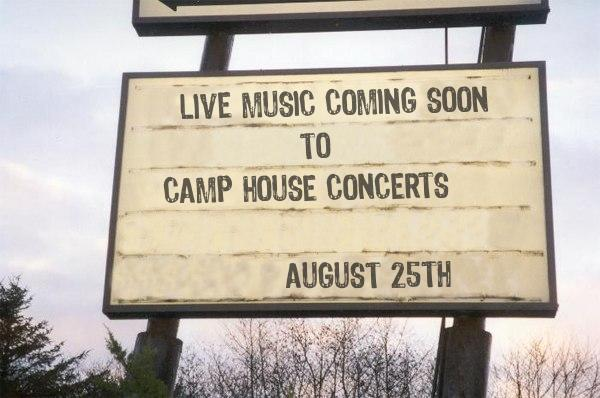 Upcoming Live Music at The Camp House   Summer 2018