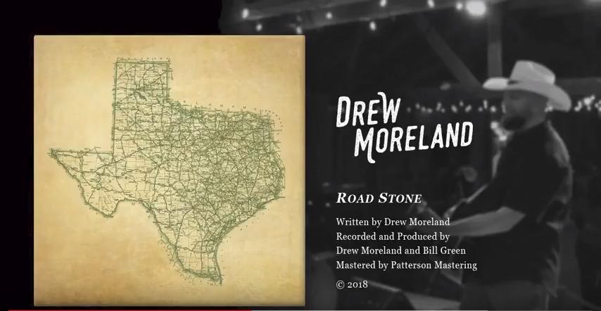 Sneak Peak of Drew Moreland's Upcoming Debut Album   Releases August 1st