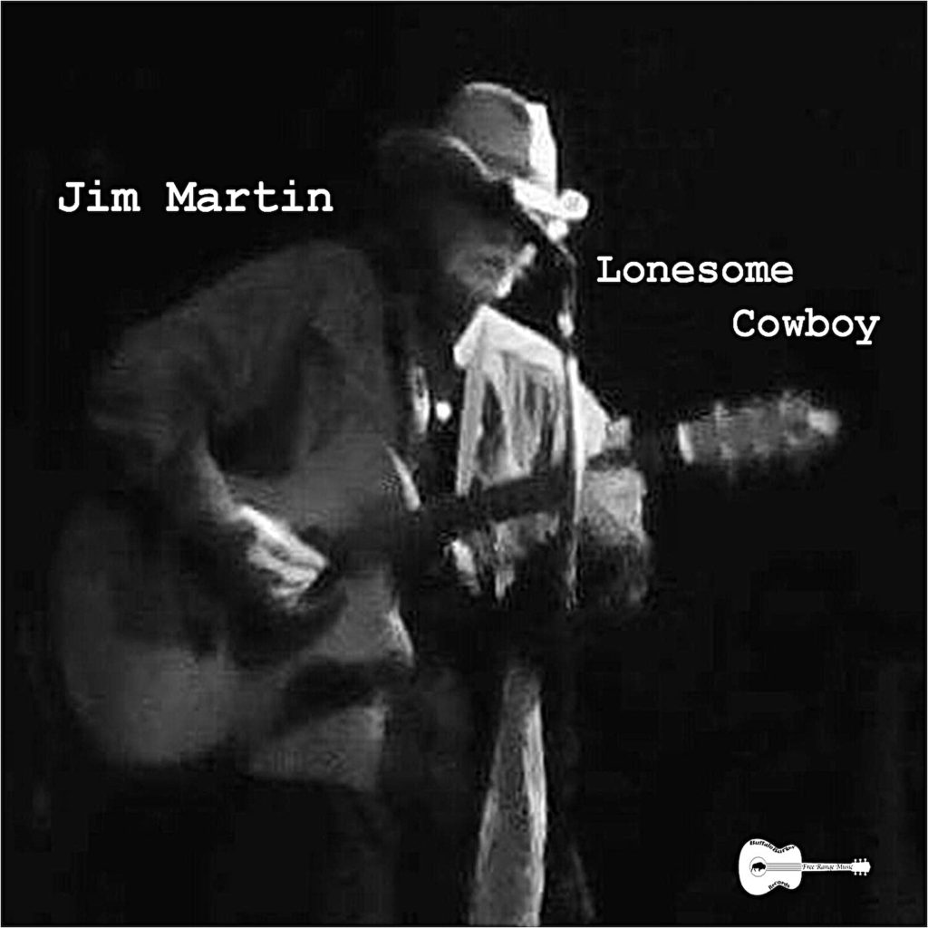 Jim Martin Lonesome Cowboy Album Art Work