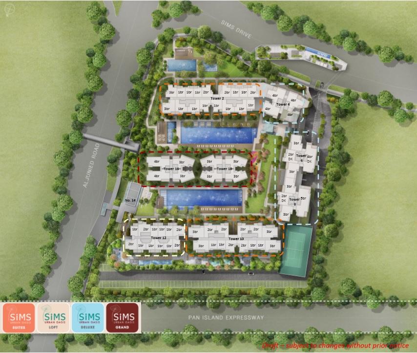 Sims_Urban_Oasis_Site_Plan