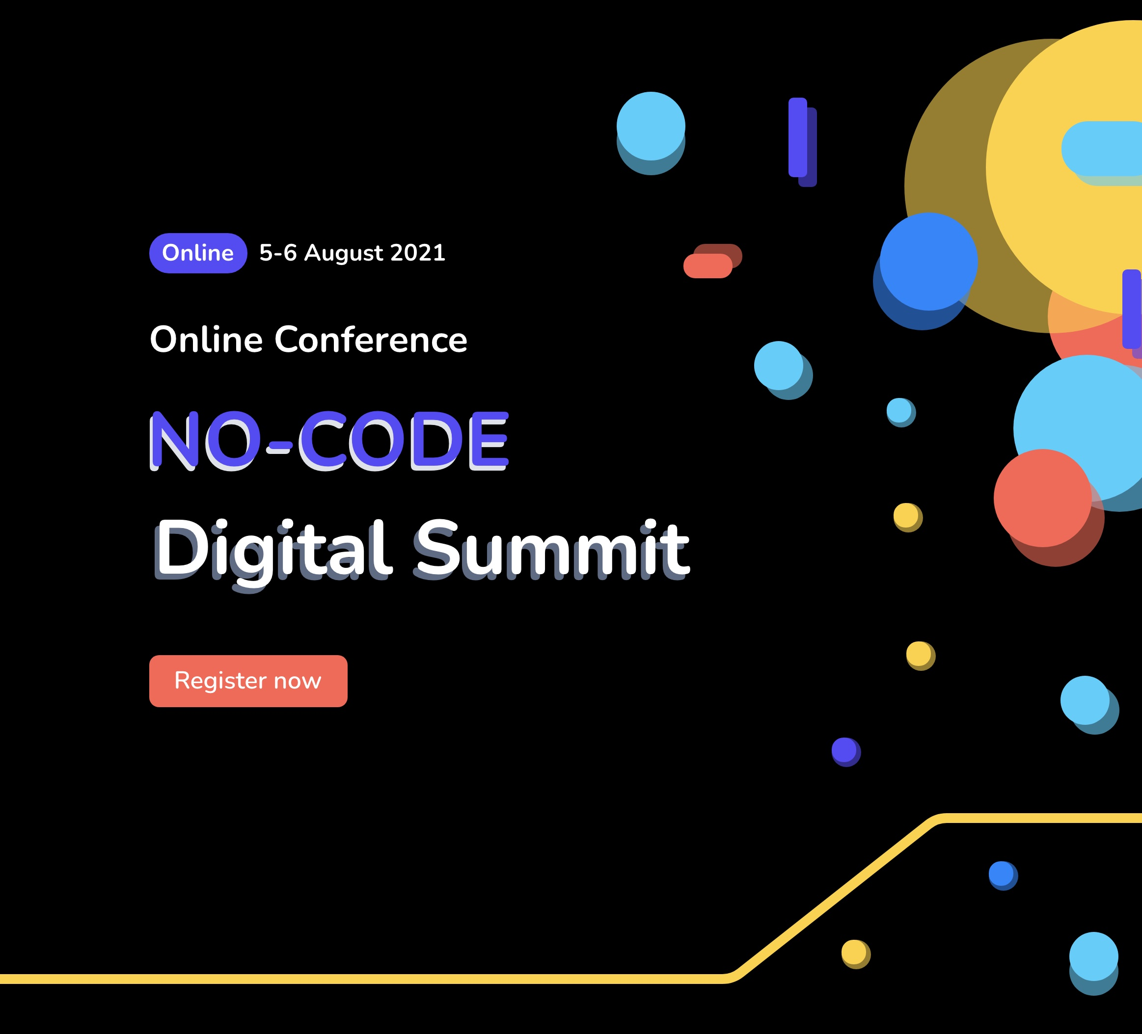 World No-Code Digital Summit will be held on August 5-6