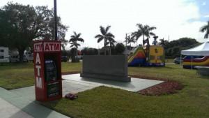 atm in park
